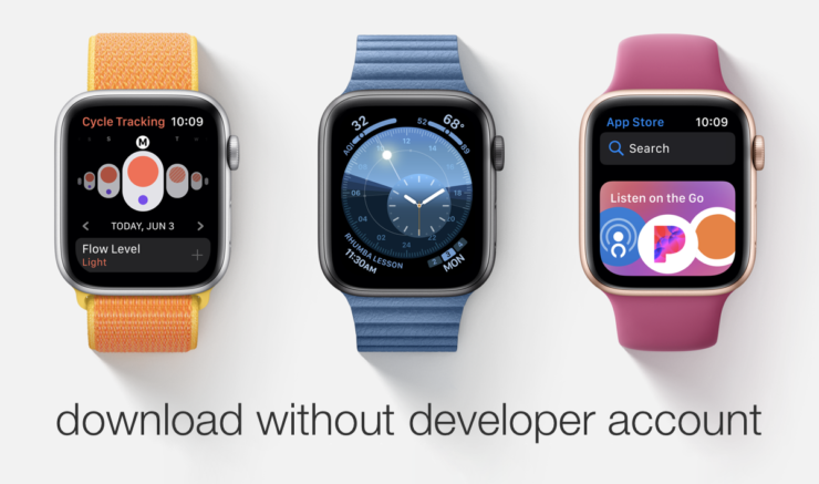 download watchOS 6 beta 5