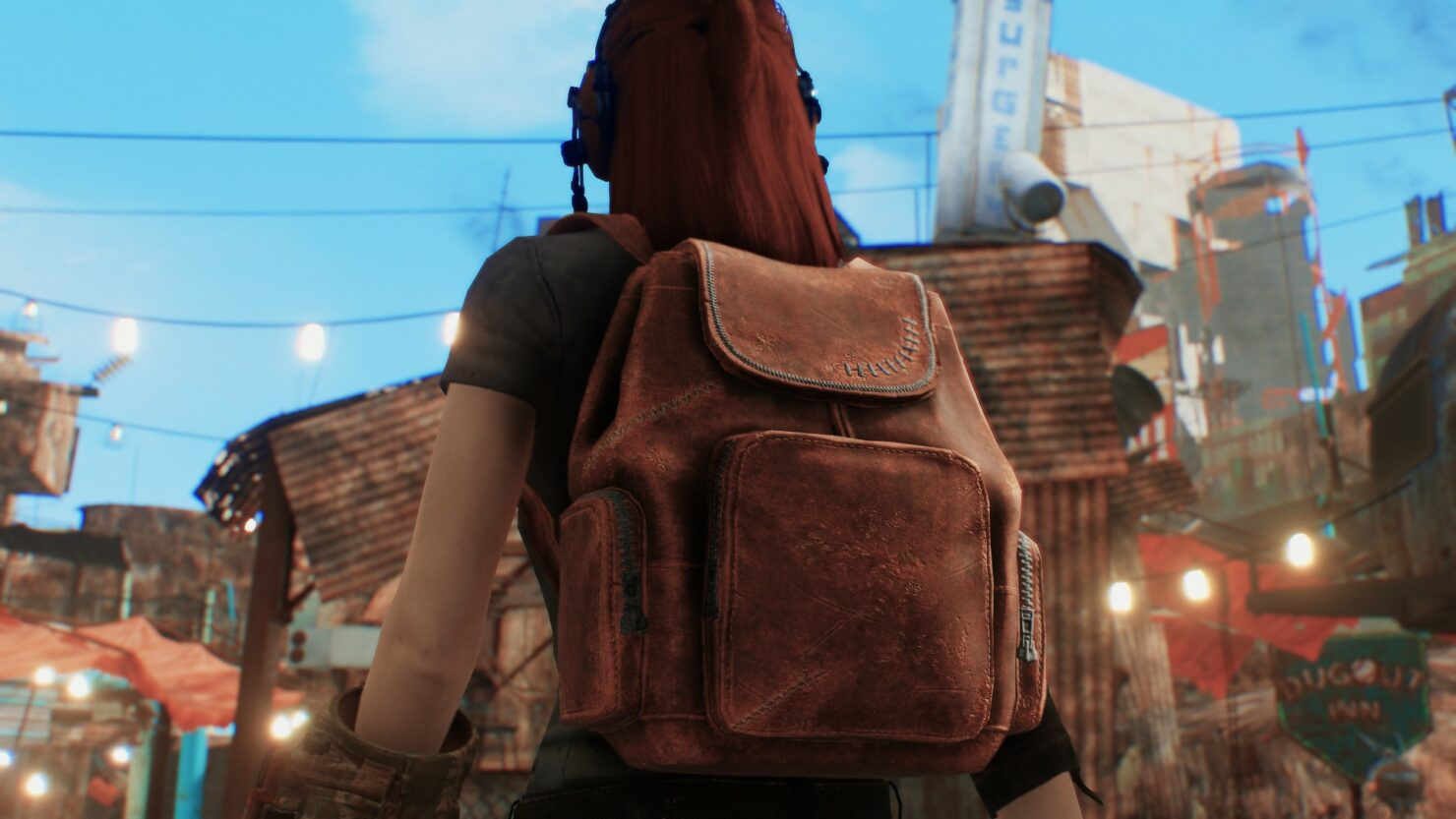 fallout 4 scavver backpack mod