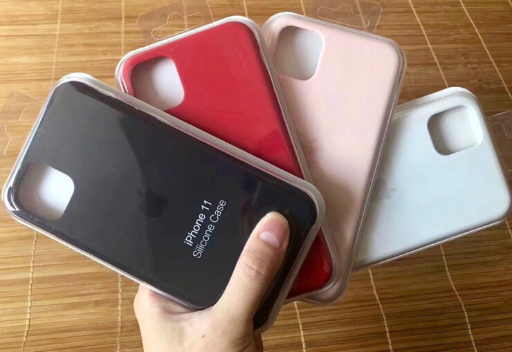 The iPhone 11, iPhone 11 Pro, and iPhone 11 Pro Max names were printed on unofficial Apple cases