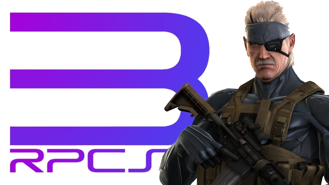 Metal Gear Solid 4 RPCS3