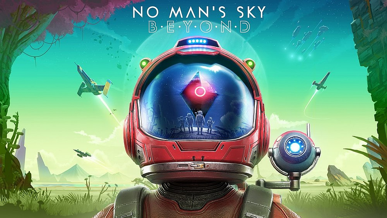No Man's Sky Beyond Launch Trailer Showcases Expanded Multiplayer