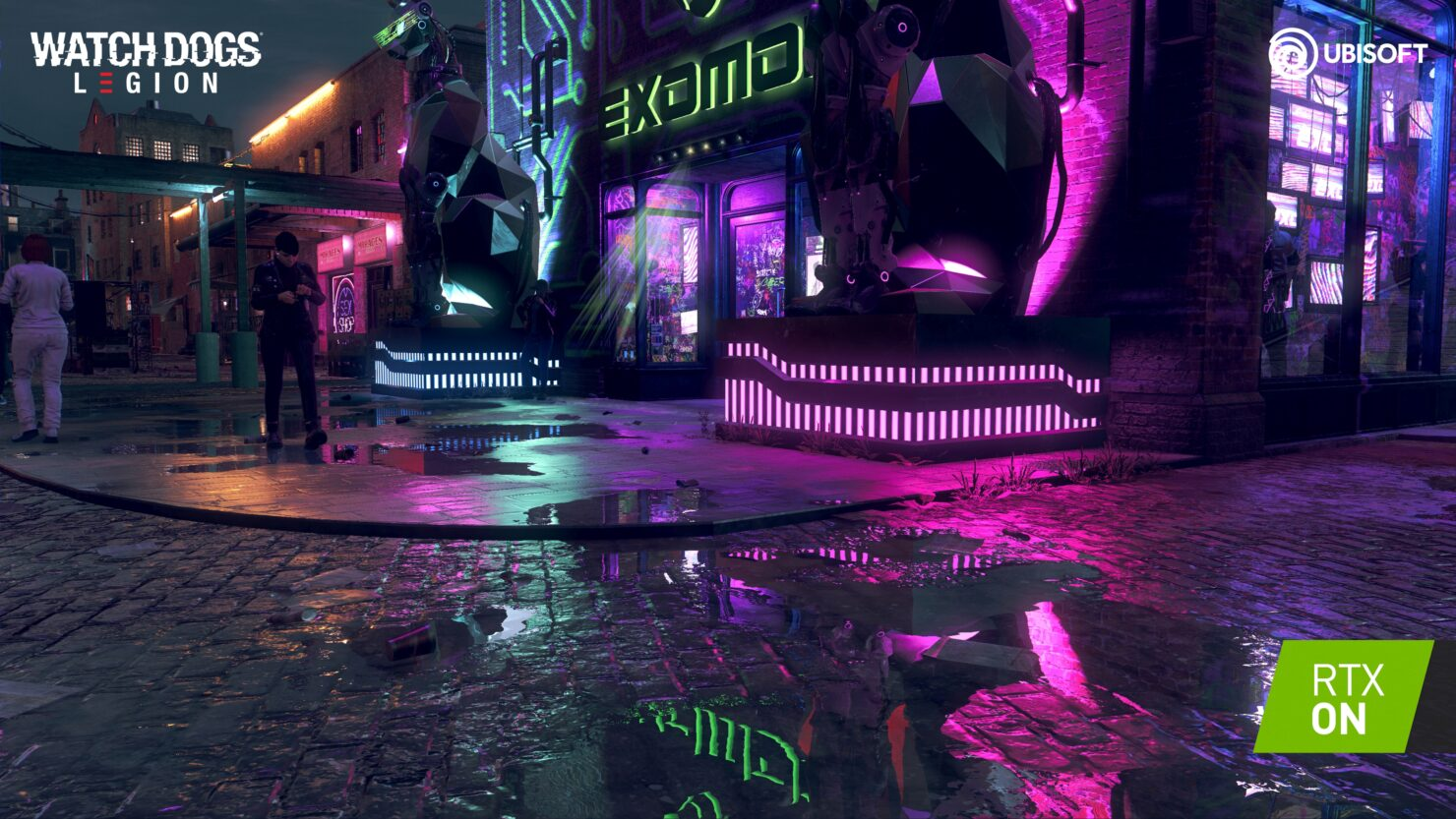 ray tracing Watch Dogs Legion