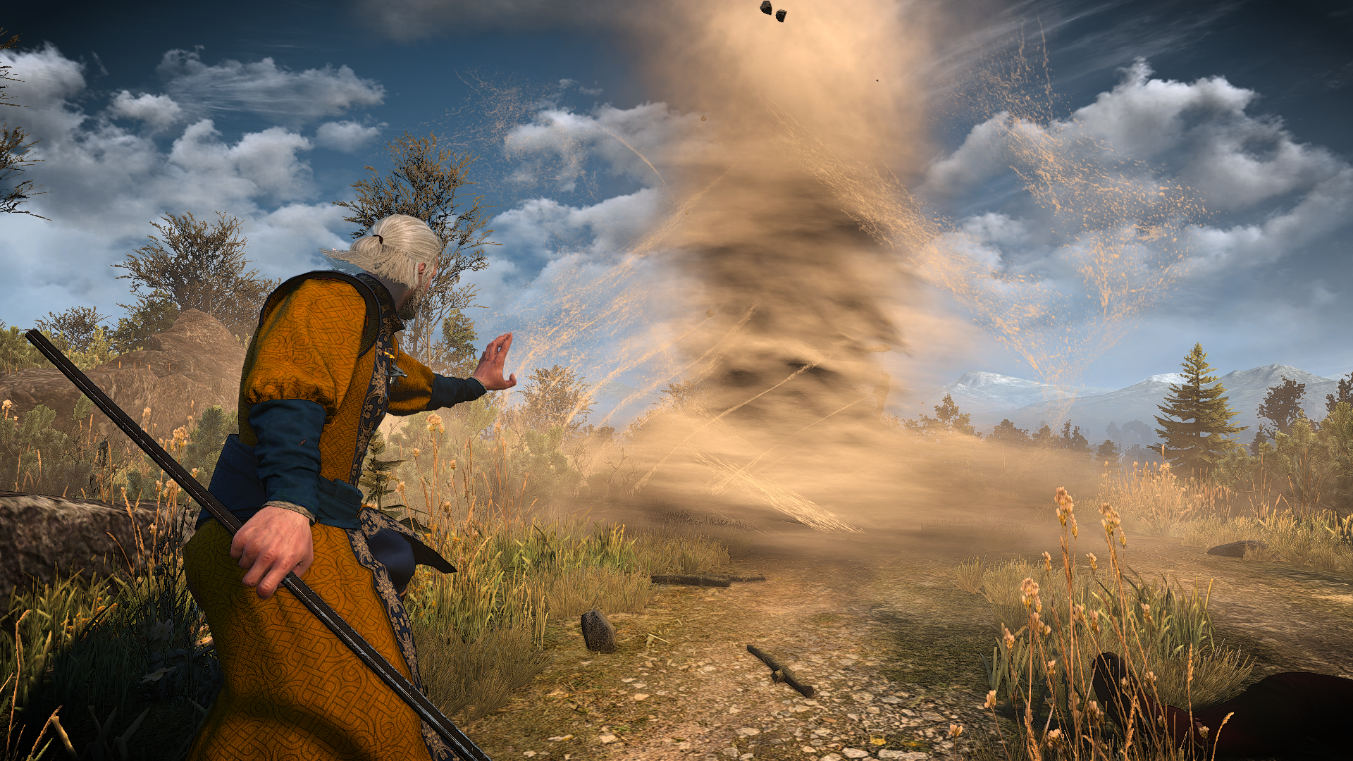 The Witcher 3 Magic Spells Mod Offers New Magic Casting Abilities