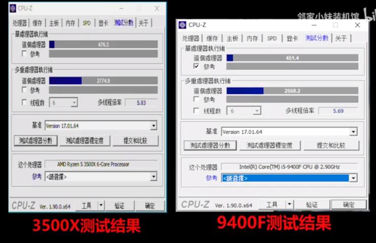 amd-ryzen-5-3500x-cpu-z benchmark [19659097] amd-ryzen-5-3500x-productivity-suite-benchmark