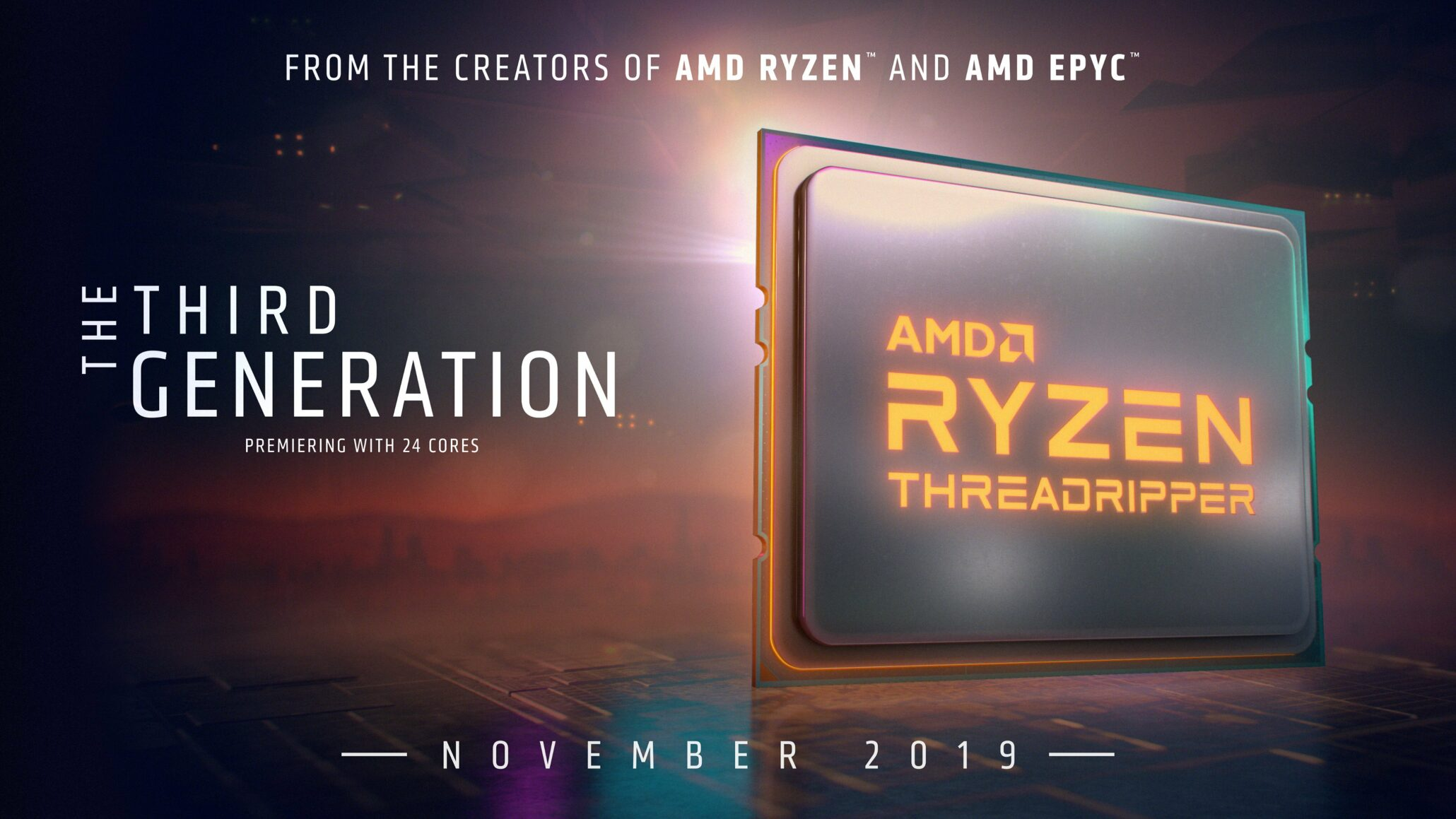 Amd Ryzen Threadripper 3970x 3960x Cpu Specs Prices Confirmed