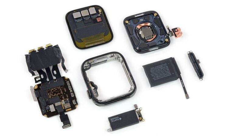 Apple Watch Series 5 teardown; small battery upgrade, new S5 SoC but same S4 CPU, GPU