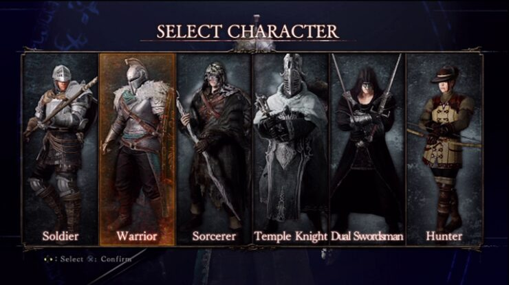 Character Classes Dark Souls II
