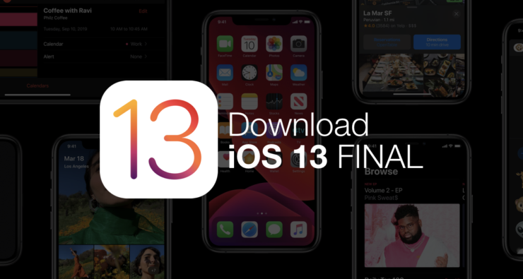 download iOS 13 final