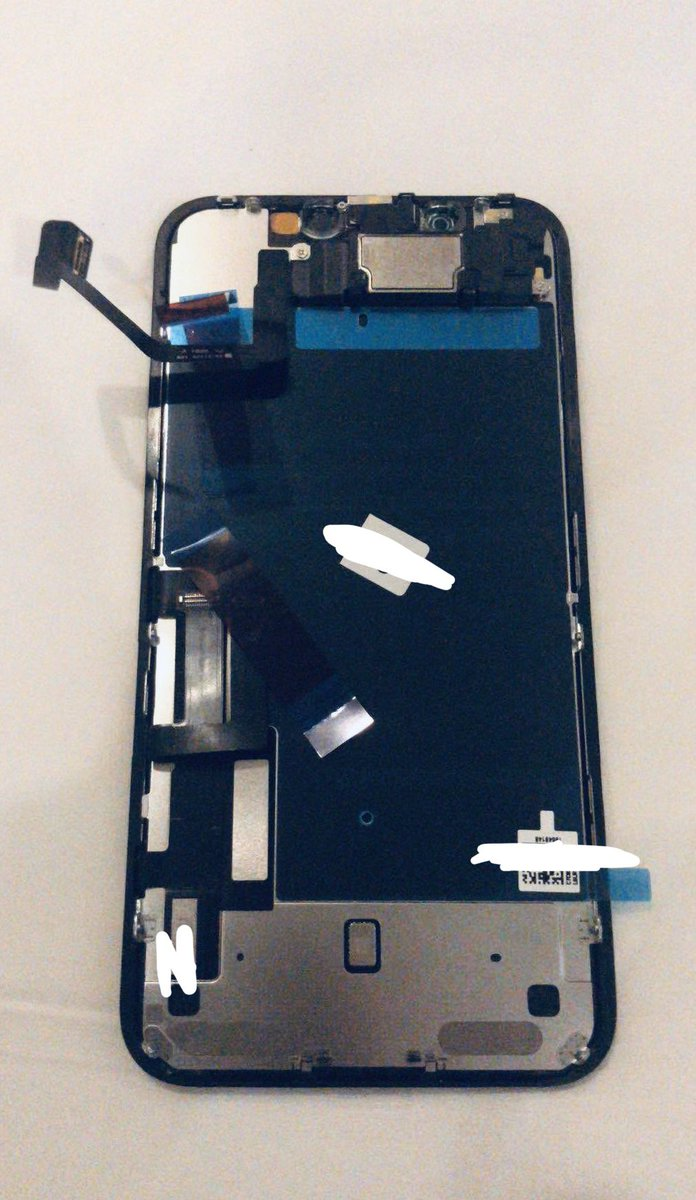 iPhone 11 alleged display assembly