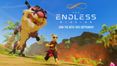 The Endless Mission Beta Art