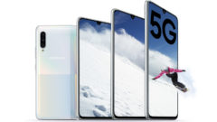 Samsung's Galaxy A90 5G is the company's first mid-range handset to offer next-gen connectivity support