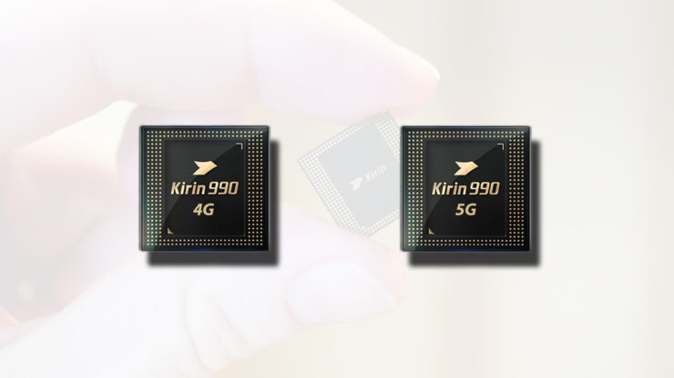 Kirin 990 4G vs Kirin 990 5G specification differences
