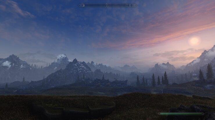 Skyrim Special Edition Volumetric Mists Mod 7