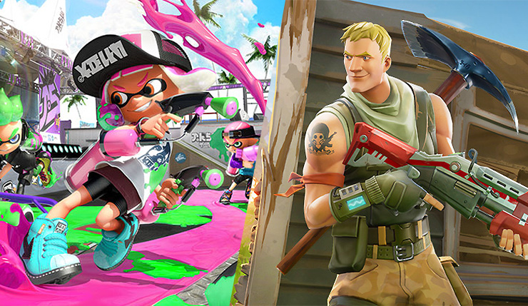 Fortnite x Splatoon Crossover Clues Uncovered by Data Miners