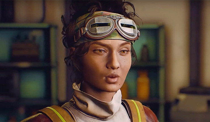 The Outer WOrlds PS4 Pro XBox ONe x