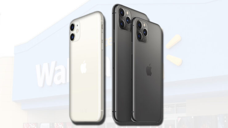 Walmart will give discounts on the iPhone 11, iPhone 11 Pro, and iPhone 11 Pro Max from day one