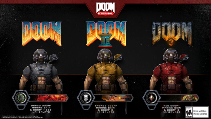 classic doom eternal skins doom patch doom 11 update ps4 xbox switch