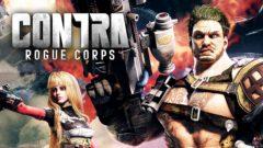 Contra Rogue Corps Art
