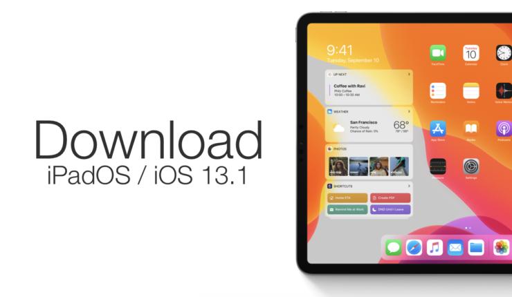 download iPadOS