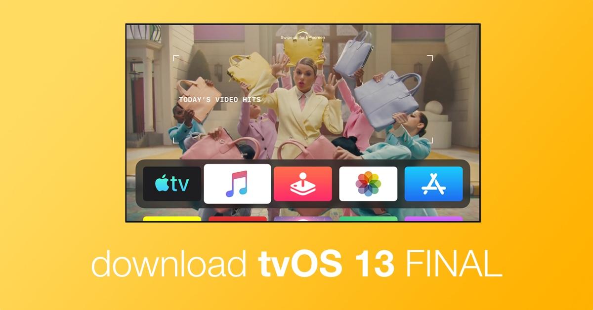 download tvOS 13 final