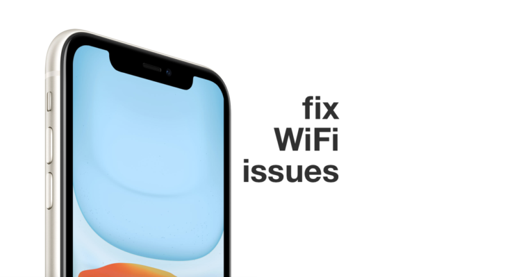 fix iOS 13 wifi issues