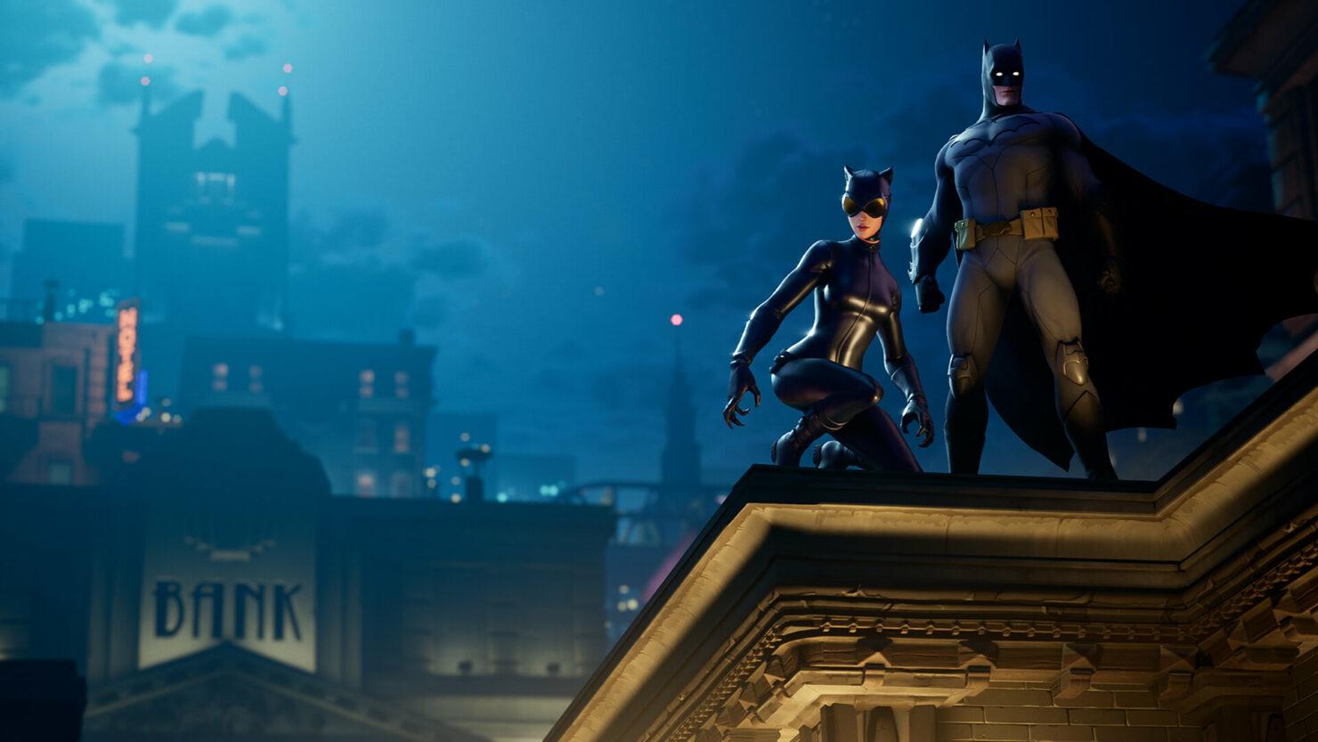 Fortnite Batman Catwoman Epic