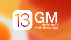 iOS 13 GM Download