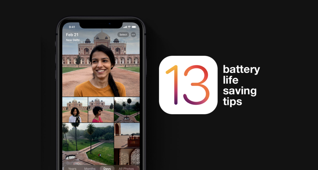 iOS 13 Battery Life Saving Tips