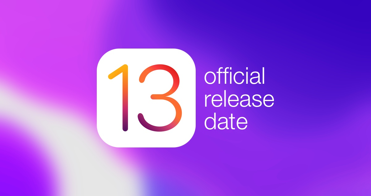 iOS 13 / iPadOS 13 Release Date Officially Revealed