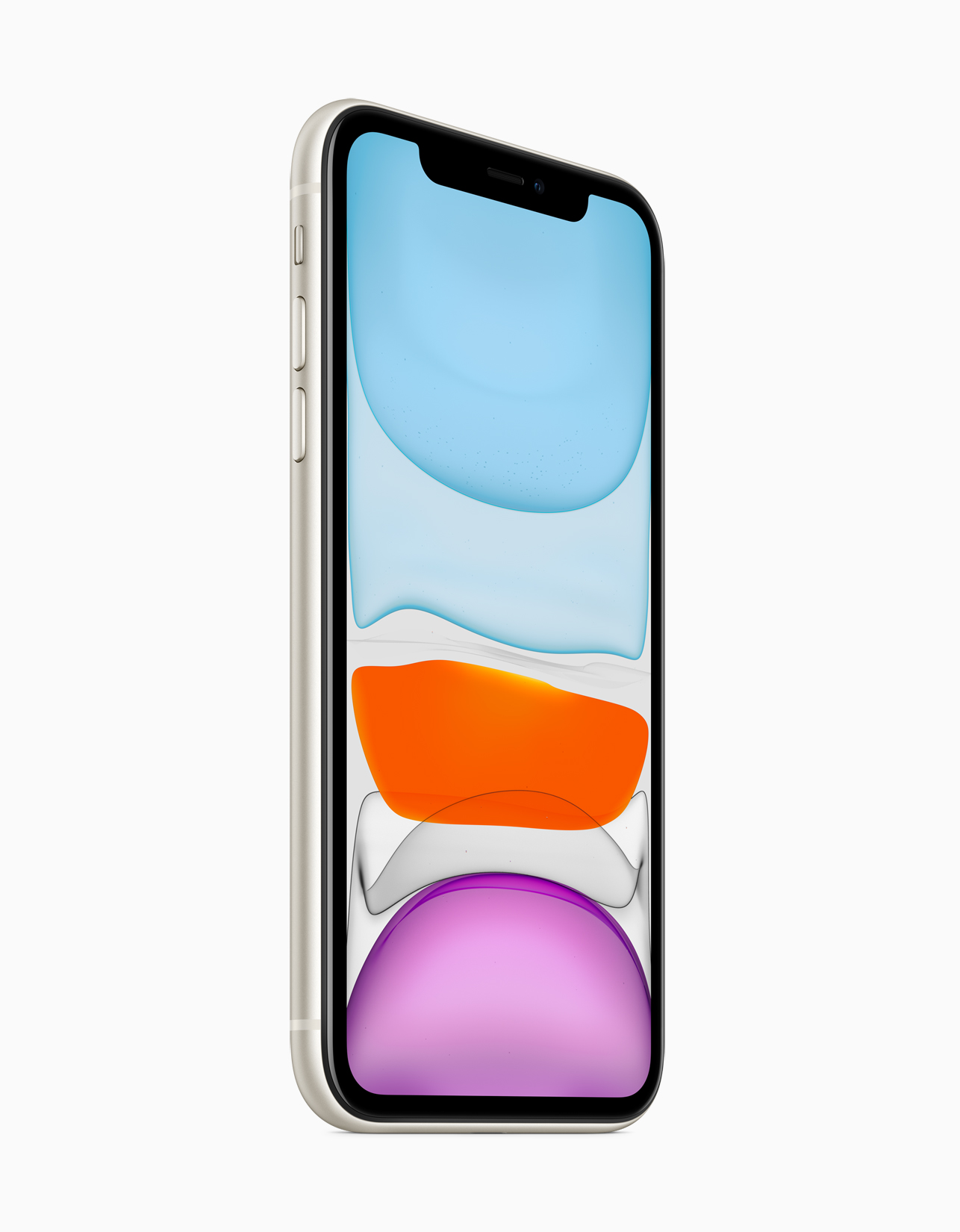 iphone 11 launched a13 bionic soc dual rear camera 4k front cam recording 6 color options