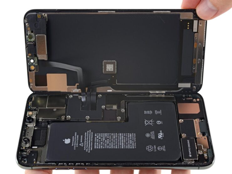 iPhone 11 Pro Max iFixit Teardown Shows 2-Way Wireless Charging Evidence