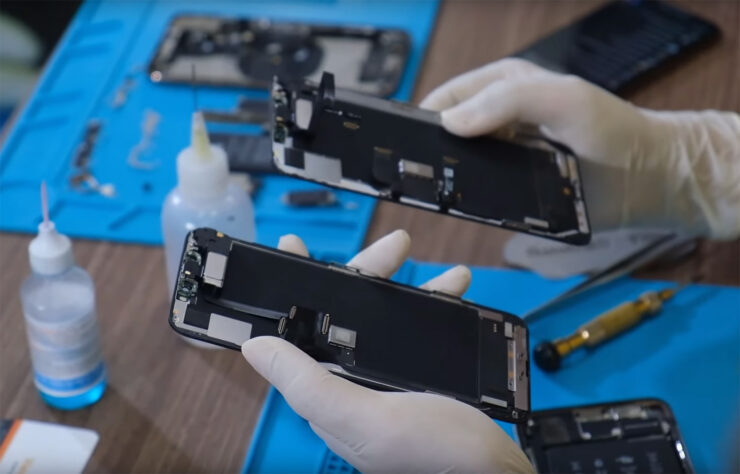 iPhone 11 Pro Max Teardown Show Small Board, L-Shaped Battery, & More