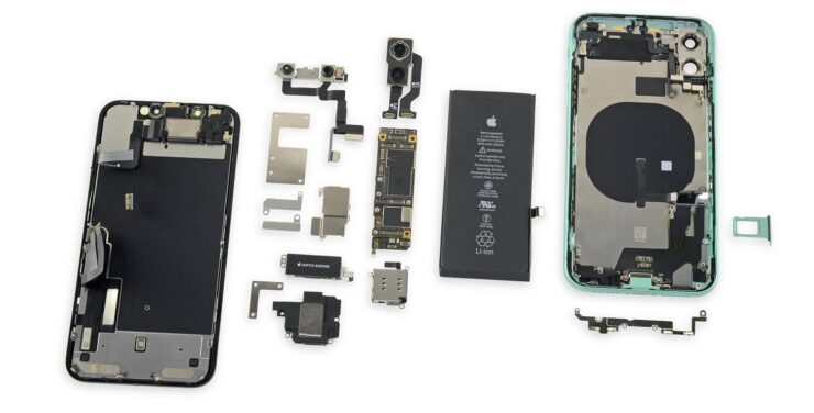 iPhone 11 iFixit Teardown reveals an iPhone XR on the outside, but an advanced iPhone 11 Pro on the inside