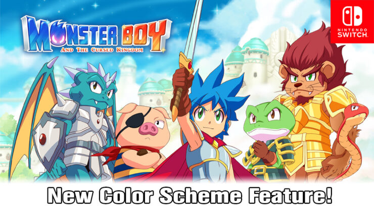 monster boy and the cursed kingdom switch update 1.0.5 lite