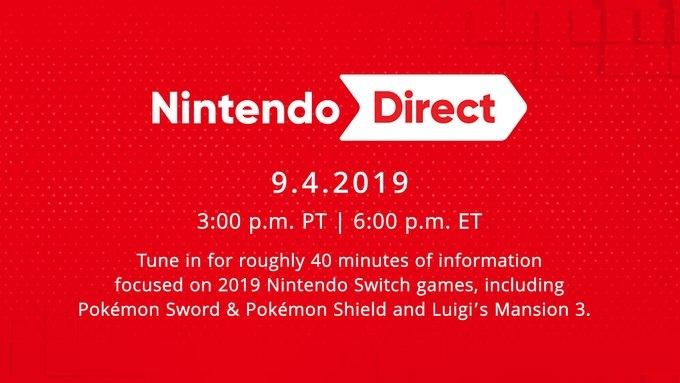 new nintendo direct september 4 2019