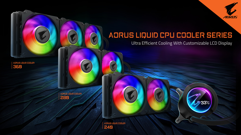 Gigabyte Launches Their High End AIO - Aorus ATC800 Cooler