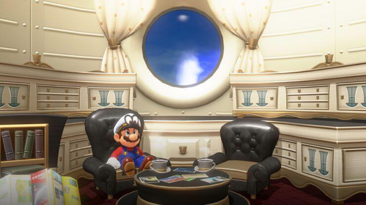 Super Mario Odyssey Yuzu PC