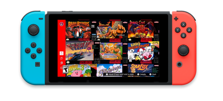 snes switch online games