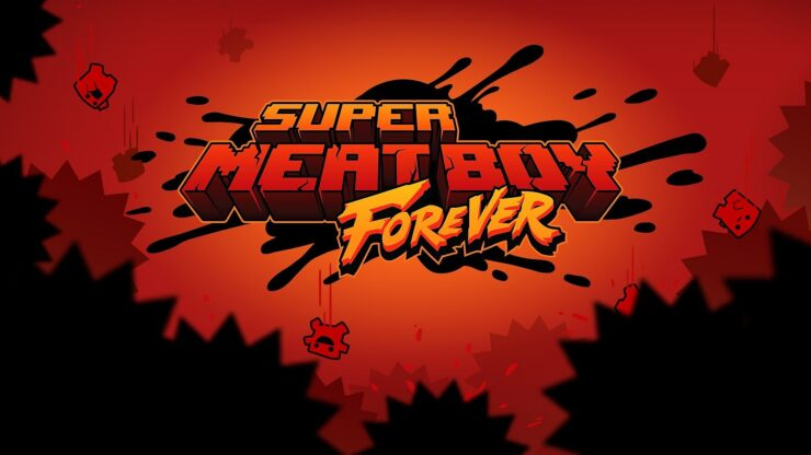 Super Meat Boy Forever Art