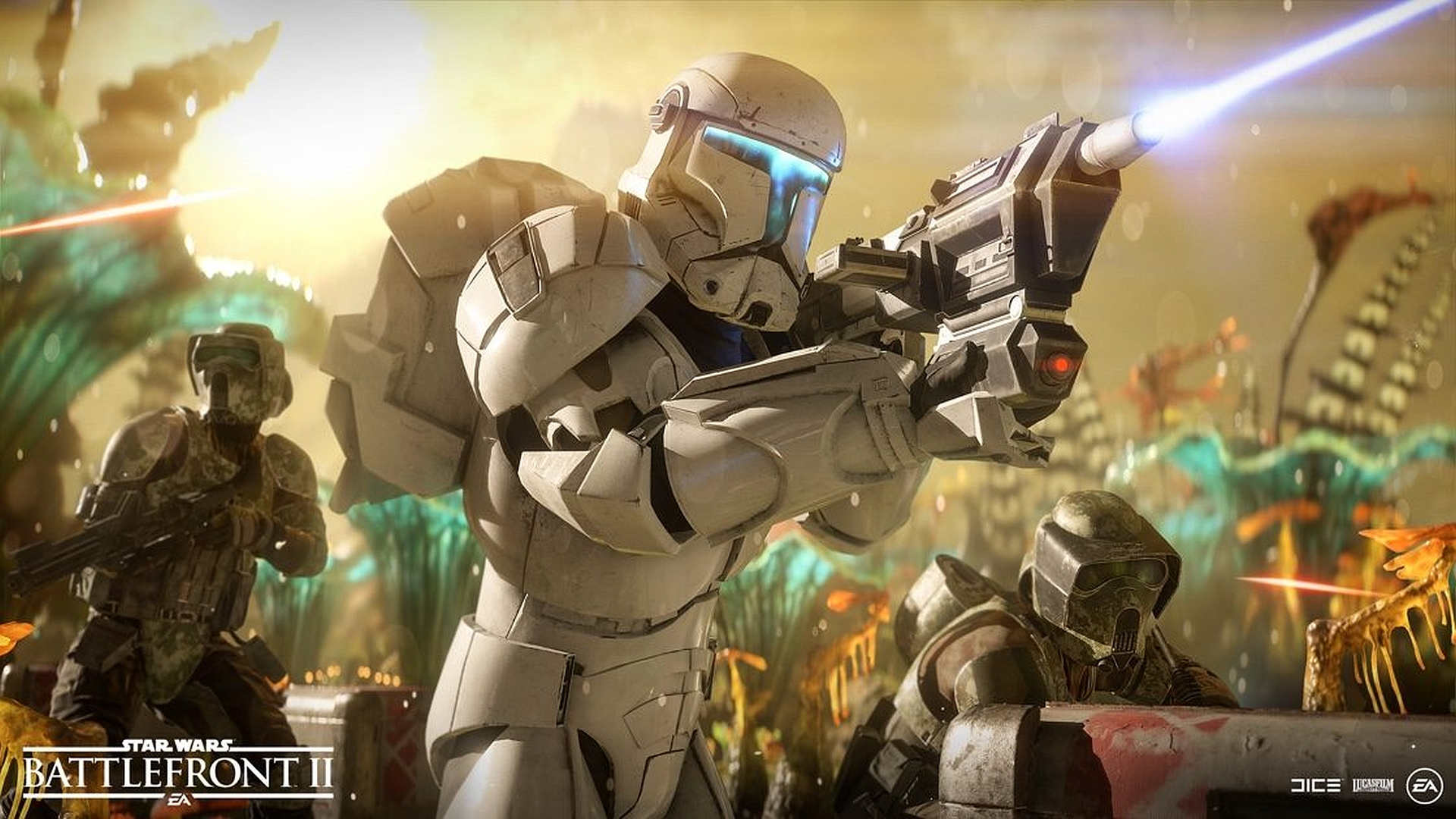 Star Wars Battlefront Ii Cooperation Update Video Showcases Pve Co Op Felucia And Clone Commandos