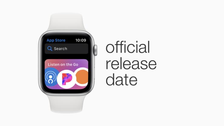 watchOS 6 release date
