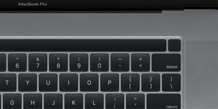 2016 MacBook Pro Touch Bar Imagined