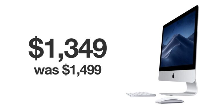 $150 off deal on 4K iMac