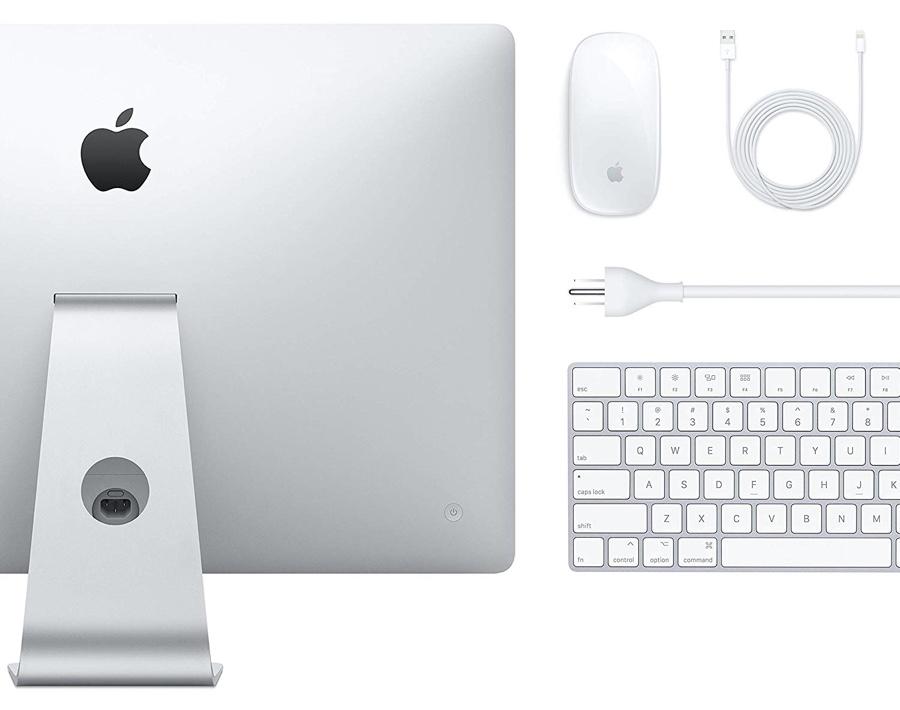 4K iMac box contents