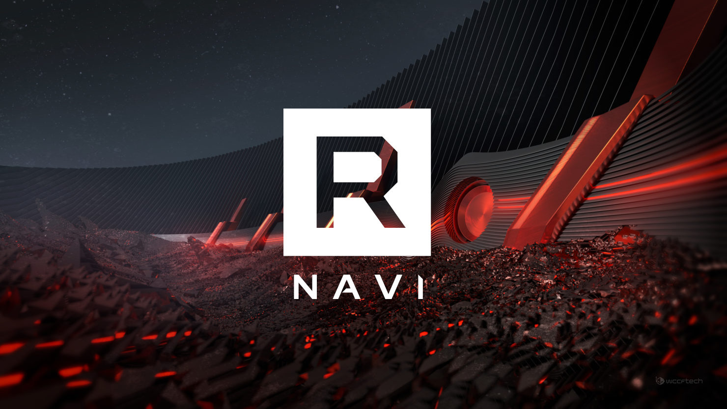 A featured image of the upcoming AMD 'Big' Navi GPU.