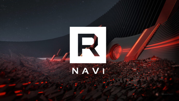 A featured image of the upcoming AMD 'Big' Navi GPU.