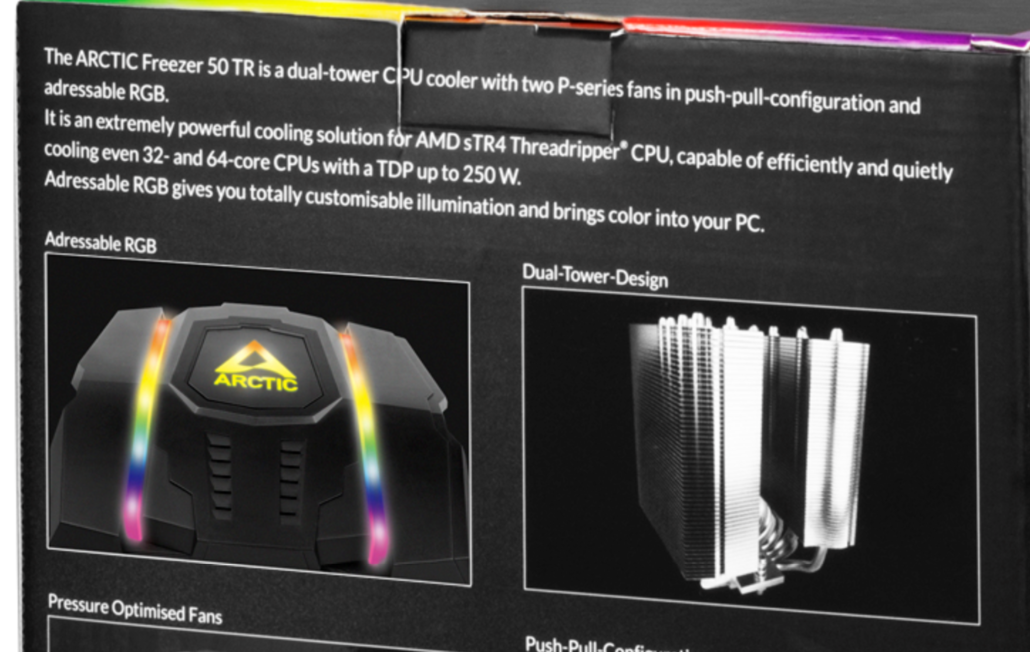 ACTIC Freezer 50 TR AMD Ryzen Threadripper