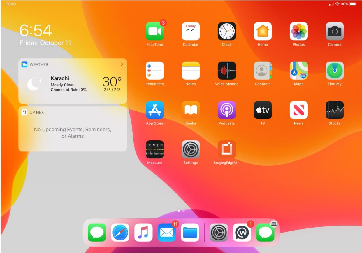 Resize App Icons on iPadOS Home Screen