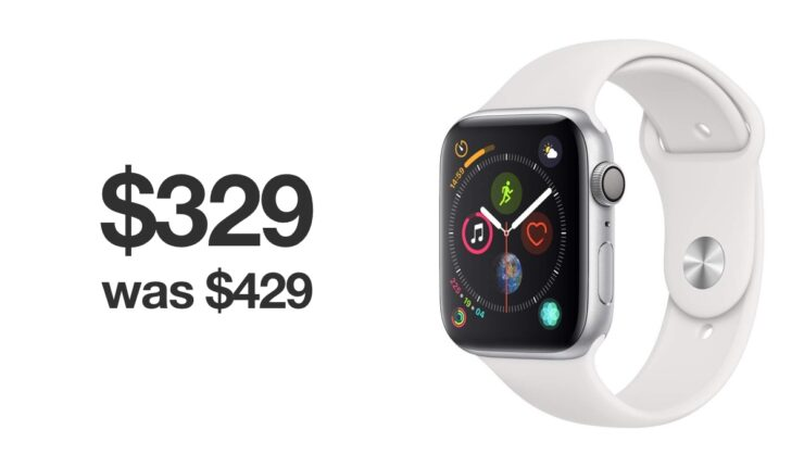Apple Watch Series 4 is $100 off today