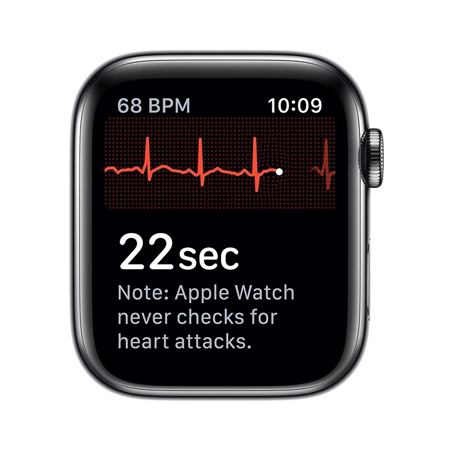 Apple Watch Series 5 has built-in ECG